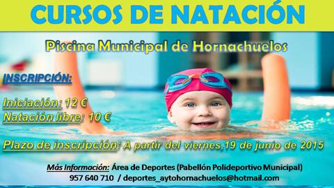 El municipio cordobés de Hornachuelos abre el plazo de inscripción para los cursos estivales de iniciación a la natación, natación libre y natación utilitaria para personas mayores de 65 años