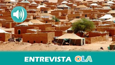 """""""La cuestión saharaui sigue estancada por la intransigencia de Marruecos como país invasor y por las resoluciones vacías de contenido de la ONU"""", Abidin Bucharaya, delegado Frente Polisario Andalucía"""