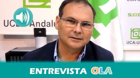 «El 80% de las personas consumidoras tienen la sensación de que están expuestas a una mayor vulneración de sus derechos en el periodo de rebajas», Juan Moreno, presidente de la Unión de Consumidores de Andalucía