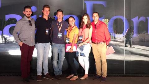 Un grupo de corresponsales juveniles de Cártama participan en el III Congreso Internacional Ciudades Amigas de la Infancia promovido por el Comité Español de UNICEF que se celebra en Madrid