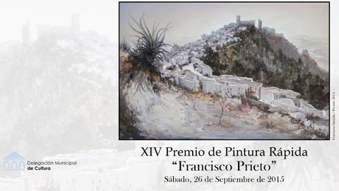 """El municipio gaditano de Arcos de la Frontera convoca el XIV Concurso de Pintura Rápida """"Francisco Prieto"""" que se celebrará el próximo 26 de septiembre, con una dotación de 600€ a la obra ganadora"""