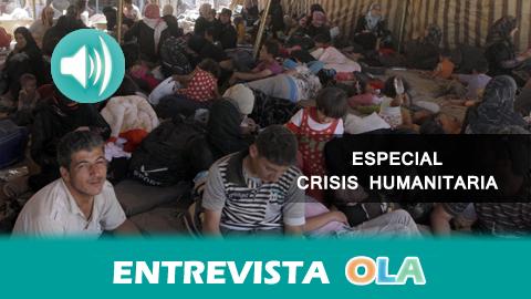 """""""La Consejería de Justicia ultima los servicios que se van a precisar para la acogida de refugiados"""", Luis Vargas, director general de Coordinación de Políticas Migratorias de la Junta de Andalucía"""
