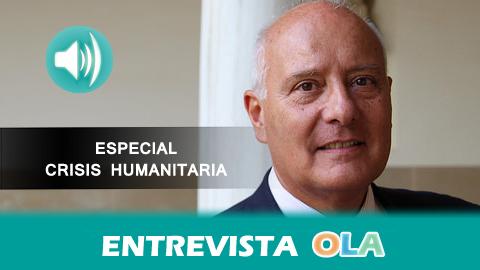 """""""La UE no está a la altura de las circunstancias de los demandantes de asilo porque los líderes no tienen la capacidad requerida"""", Juan Manuel Faramiñán, catedrático de Derecho Internacional Público de la UJA"""
