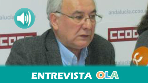 """""""El proyecto que ha ganado la adjudicación de Aznalcóllar ha planteado también alternativas que convivan con la explotación minera"""", Manuel Ruiz, secretario de Políticas Sectoriales de CCOO Andalucía"""
