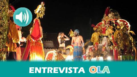 """""""La Cabalgata de Reyes es producto del pueblo, que saca 16 carrozas y que se organiza y gestiona durante todo el año para preparar esta tradición"""", Esteban Ruiz, Ayto. Higuera de la Sierra (Huelva)"""