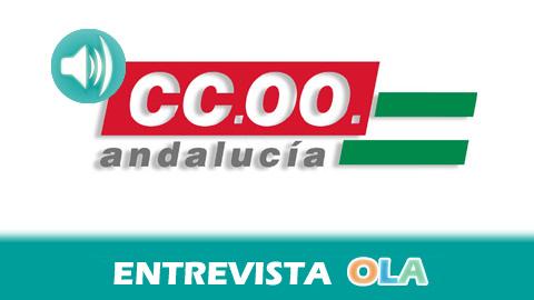 """""""Tenemos dos objetivos, la recuperación del poder adquisitivo de los salarios y la recuperación del empleo de calidad"""", Miriam Pinillos, secretaria de Acción Sindical y Relaciones Laborales de CCOO- A"""