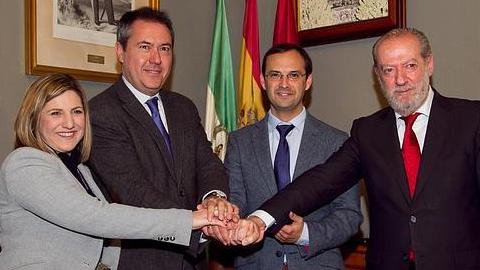 Sevilla y Sanlúcar de Barrameda continúan trabajando en un programa conjunto para conmemorar el Quinto Centenario de la Primera Vuelta al Mundo implicando también a las dos Diputaciones provinciales