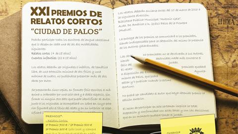 """Palos de la Frontera convoca los XXI Premios de Relatos Cortos """"Ciudad de Palos"""" para fomentar la creatividad entre los y las ciudadanas y con ello aumentar la afición por la lectura y la escritura"""