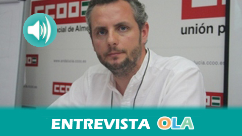 """""""El sector del manipulado es básico para la economía de Almería y, con este acuerdo, hemos conseguido, por primera vez, un avance en las jornadas laborales"""", Javier Castaño, Sindicato Agroalimentario de CCOO"""