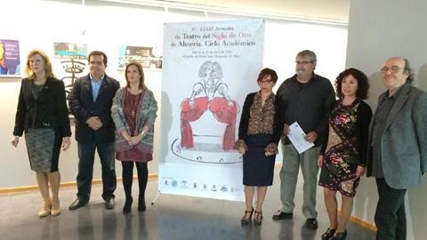 El Ciclo Académico de la trigésimo tercera edición de las Jornadas del Teatro del Siglo de Oro en Almería se celebrará entre el 21 y 23 de abril en el Castillo de Santa Ana de Roquetas de Mar