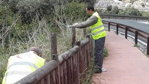 Diez personas en situación de desempleo de Casares encuentran trabajo en el Ayuntamiento de la localidad malagueña gracias a un nuevo plan de empleo que busca la mejora de los servicios municipales