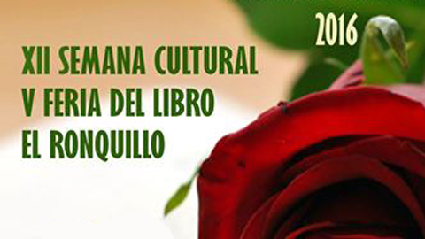 El Ronquillo celebra su XII Semana Cultural y su V Feria del Libro con un conjunto de actividades enfocadas a fomentar la promoción cultural y la lectura entre los vecinos y vecinas del municipio