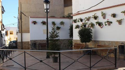 El patrimonio público de Olula del Río se amplía tras la adquisición por el Ayuntamiento de 'El Patio Andaluz', un rincón céntrico del casco urbano que ha sido adquirido recientemente para el disfrute de la vecindad
