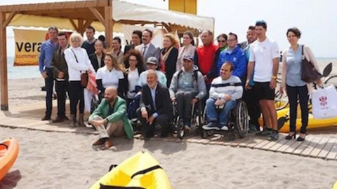 Las personas con movilidad reducida ven ampliada su oferta de ocio y tiempo libre con la apertura de un centro de Turismo Accesible en el municipio almeriense de Vera, el primero en toda la costa mediterránea