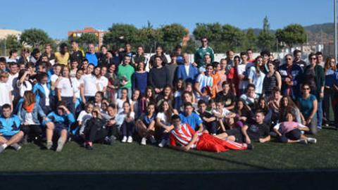 150 alumnos y alumnas de tres centros educativos participan en unas Jornadas de Iniciación al Atletismo en el barrio malagueño de Palma-Palmilla fomentando el ocio alternativo y la igualdad de género
