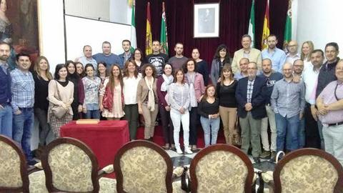 Alcalá del Valle participa en el encuentro de Centros 'Red Guadalinfo' de Cádiz que reúne a los agentes informáticos para mejorar su formación y convertir las TIC en un medio de desarrollo económico y local