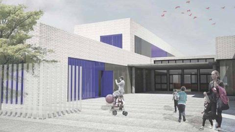 Comienza la segunda fase de la construcción de las nuevas infraestructuras del Colegio de la Unión en La Rinconada, que permitirá ofertar más de 300 puestos escolares para los y las menores de la localidad