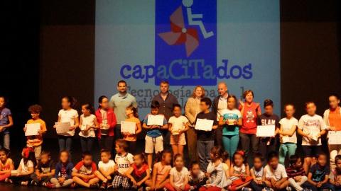 El programa 'Andalucía, mejor con ciencia' promueve en Atarfe el proyecto 'CapaCITAdos' que persigue mejorar la concienciación hacia la discapacidad y eliminar las barreras arquitectónicas en la localidad