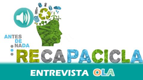 """""""Hay una mejora en el reciclaje en los últimos años como se recoge en los ecobarómetros pero este avance es lento"""", Ricardo de Castro, jefe de Servicios de Educación Ambiental y Formación de la Junta"""