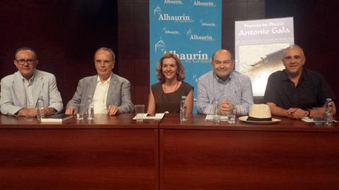 El poemario 'Finalista' de la autora malagueña Laura Franco es el ganador de la décima edición del Premio Internacional de Poesía Antonio Gala otorgado por el Ayuntamiento de Alhaurín el Grande