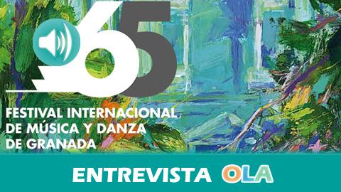 """""""Este año tendremos grandes orquestas del mundo y, en flamenco, las actuaciones de Eva La Yerbabuena, Arcángel o Miguel Poveda"""", Diego Martínez – Festival Internacional de Música y Danza (Granada)"""