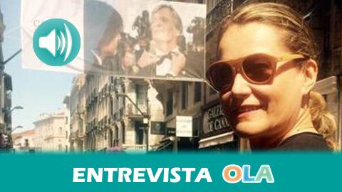 """""""En las Rutas de Cine acercamos escenas que todo el mundo reconoce, anécdotas del rodaje y las identificamos con cada lugar"""", Piluca Querol, directora – Andalucía Film Commission"""