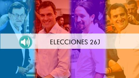 26-J: Escucha las declaraciones de los principales candidatos a la Presidencia del Gobierno y representantes políticos de Andalucía a la hora de ejercer su derecho al voto