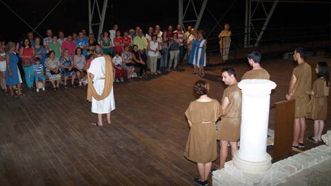 Talleres, acampadas, teatro, rutas guiadas y actividades dinamizarán la cuarta edición de las 'Noches en la Villa', un programa cultural nocturno en el yacimiento arqueológico de Fuente Álamo, en Puente Genil