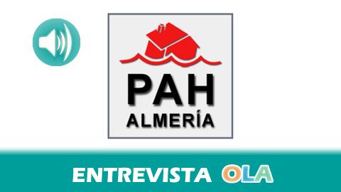 """""""El Código de Buenas Prácticas Bancarias no garantiza el derecho a la vivienda, sí lo haría la ley que aprobó hace un año la Generalitat catalana y que está recurrida por el PP"""", José Carzorla, PAH Almería"""