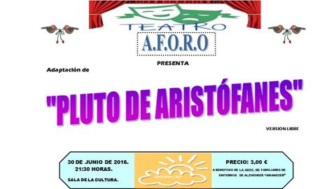 La Asociación 'Aforo' de promoción de la particiación a través del teatro realiza una obra benéfica en Marchena con el objetivo de ayudar al colectivo 'Amanecer', de familiares de personas con Alzheimer