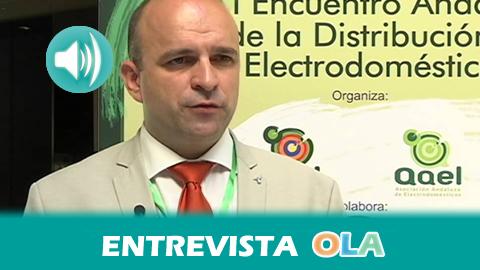 «Hay que concienciar a la ciudadanía para que recicle electrodomésticos porque cuando termina su vida útil tienen muchos contaminantes», Carlos Bejarano, secr. gral. Federación Andaluza de Electrodomésticos