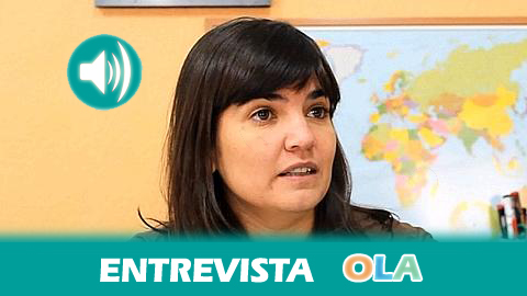 """""""La intención de varios ayuntamientos de cerrar los CIEs de sus localidades es una forma de presión más y esa es la vía para sumar cuanto más frentes mejor"""", Sylvia Koniecki, presidenta de Andalucía Acoge."""
