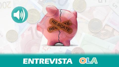 Juan Torres denuncia que si solo se ha recuperado el 5% del rescate a la banca se debe a las políticas del Gobierno, que han defendido los intereses del sistema financiero