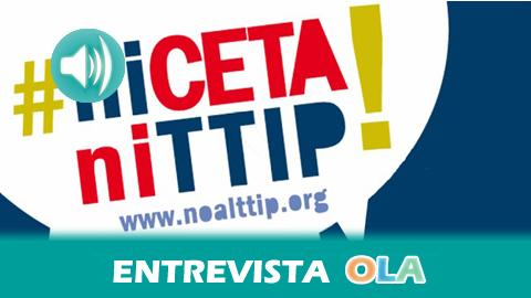 Andalucía se suma a la campaña estatal No al TTIP; los organizadores insisten en que lo más urgente es parar el acuerdo entre la UE y Canadá, en fase de ratificación