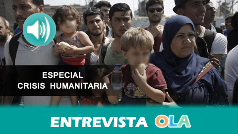 PROEMAID pide acabar con la criminalización de la acción humanitaria entregando en Bruselas más de 132.000 firmas para que no se sancione a quienes ayudan a refugiados