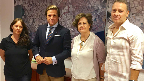 Luz verde para la creación de la primera Estación de Control de la Posidonia Oceánica de gestión municipal en la playa de Aguadulce de Roquetas de Mar