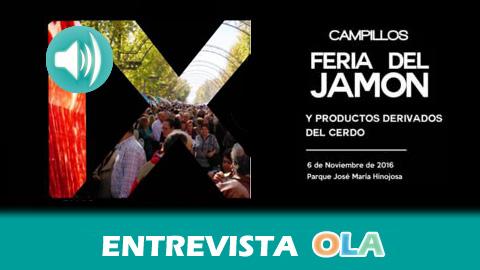 Campillos celebra este domingo su ya tradicional Feria del Jamón y productos derivados del cerdo con la participación de 60 empresas y actividades turísticas