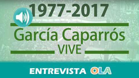 El documental 'García Caparrós. Memoria de nuestra lucha' pretende rescatar la memoria del joven sindicalista asesinado y de toda la sociedad andaluza de la época