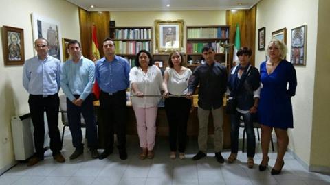 Primera renovación en la alcaldía de Villanueva del Arzobispo en cumplimiento del pacto tripartito que se alcanzó tras los comicios de mayo de 2015