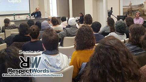 La conferencia ´Crisis, colapsos y comunicación decolonial´, del director de EMA-RTV Manuel Chaparro, abre el seminario sobre procesos migratorios y minorías