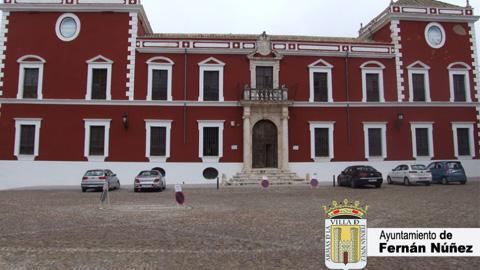 El Palacio Ducal de Fernan Núñez será accesible para las personas con discapacidad gracias al comienzo de las obras de rehabilitación de su entrada
