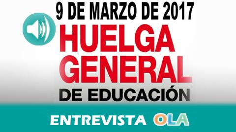 USTEA llama a la huelga general en educación este jueves 9 de marzo para rechazar la LOMCE, los recortes y para pedir el aumento del presupuesto educativo