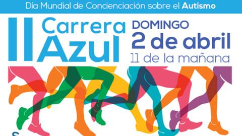 Santa Fe conmemora el Día por la Concienciación sobre el Autismo aunando deporte y solidaridad con la II Carrera Azul organizada por la asociación Mírame