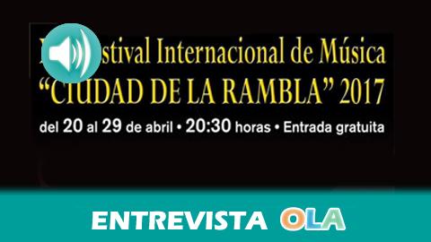 El Festival Internacional de Música 'Ciudad de La Rambla' acerca la cultura musical clásica a los cordobeses y cordobesas a través de conciertos didácticos