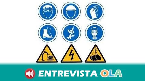 CCOO- A denuncia que siguen aumentando los accidentes laborales en Andalucía por la falta de sanciones efectivas a las empresas y por la precaria calidad del empleo
