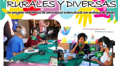 """El proyecto 'Rurales y Diversas', que fomenta la participación social de las mujeres a través de la radio, es reconocido como finalista en los Premios """"La Caixa"""" a la Innovación Social 2016"""