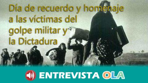 El movimiento memorialista pide hoy, Día del Recuerdo, que la ley andaluza no se quede en papel mojado