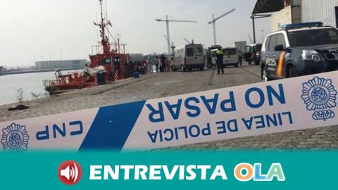 El Puerto de Málaga no reúne condiciones para atender a personas inmigrantes según ONGs y periodistas
