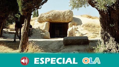 El Sitio de los Dólmenes de Antequera cumple su primer año como Patrimonio Mundial de la UNESCO