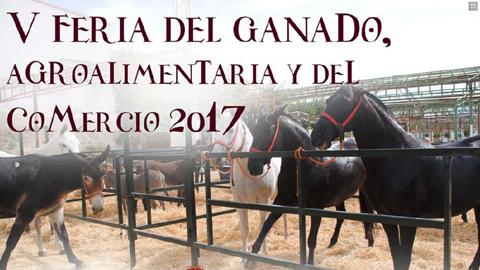 La IV Feria de Ganado, Agroalimentaria y Comercial de Paradas se celebrará el próximo fin de semana